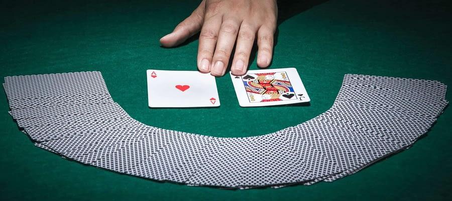 Choose your card Blackjack