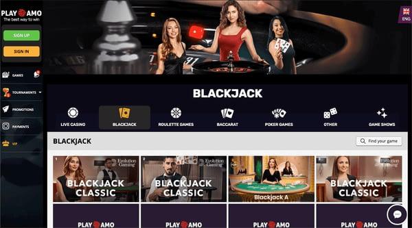 Playamo Blackjack