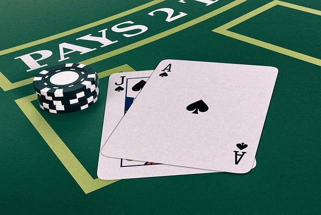 Blackjack at online casino